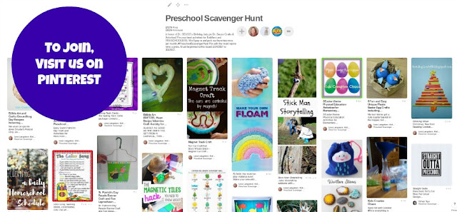 Pinterest Preschool Scavenger Hunt