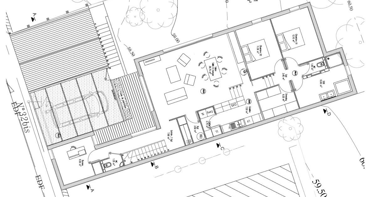 Plan De Maison 120M2 Plain Pied