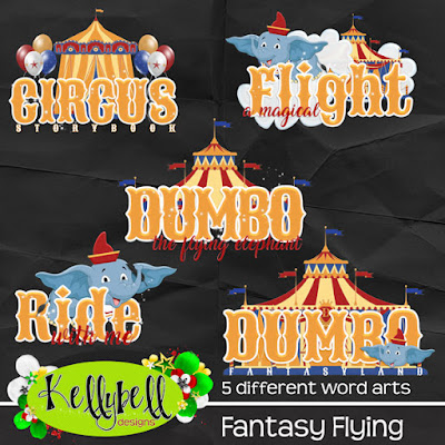 Fantasy Flying Kellybell Designs
