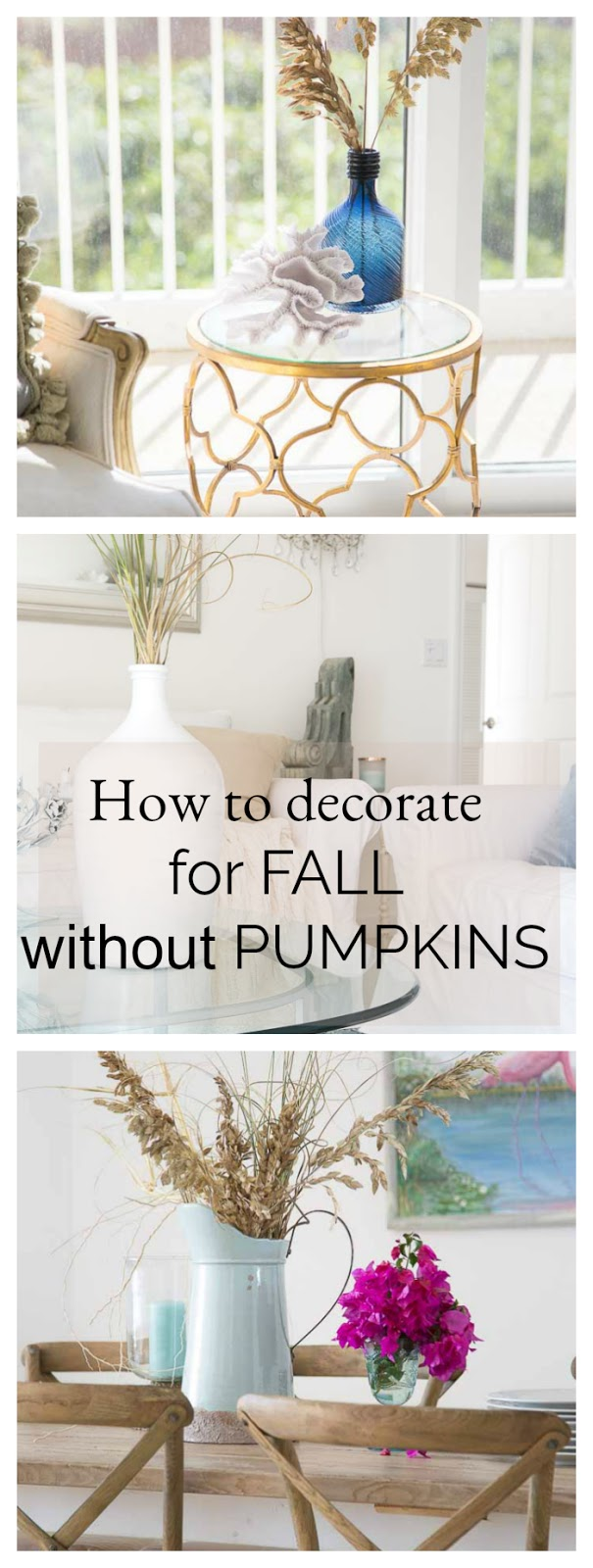How To Decorate For Fall Without Pumpkins - shabbyfufublog