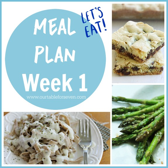 Meal Plan: Week 1