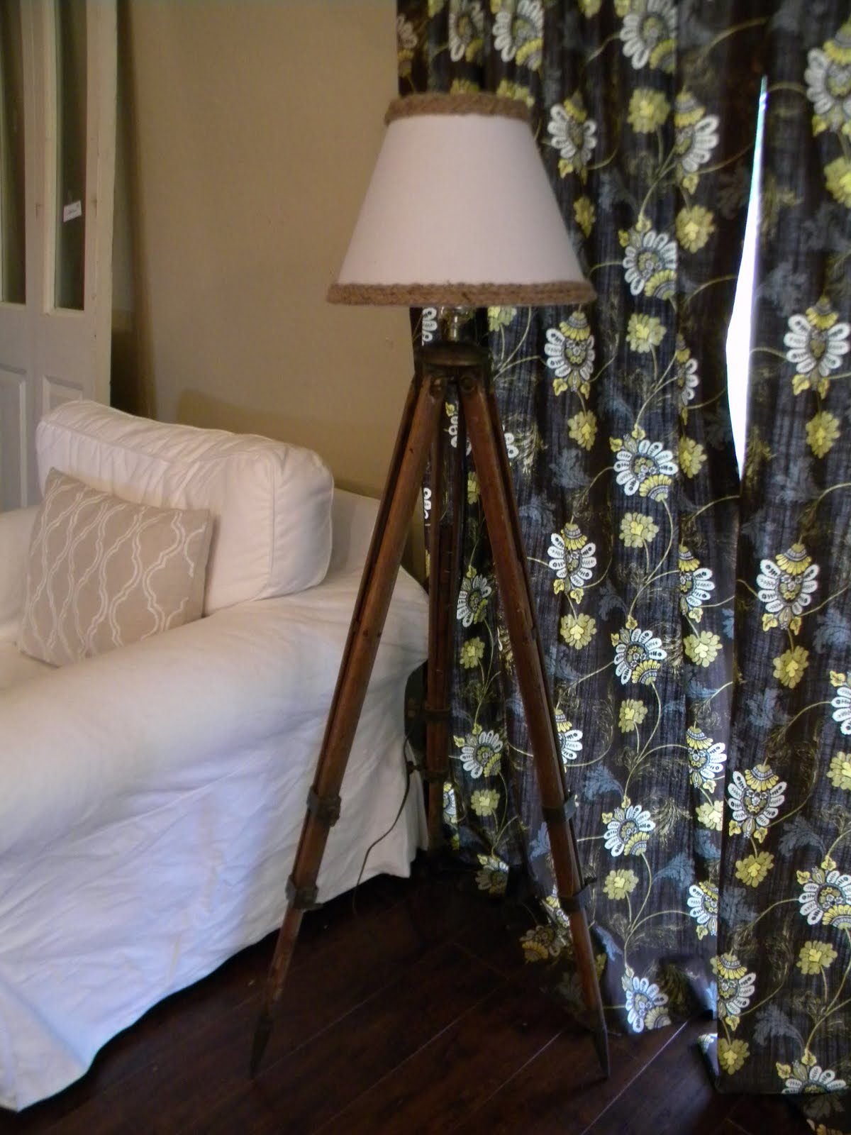 Matching Table And Floor Lamps