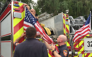 Firefighters in NY Told to Remove Flags from Back of Trucks