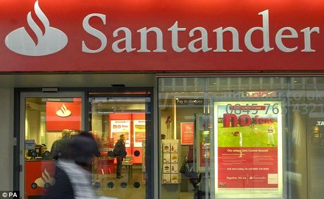 UK's bank Santander