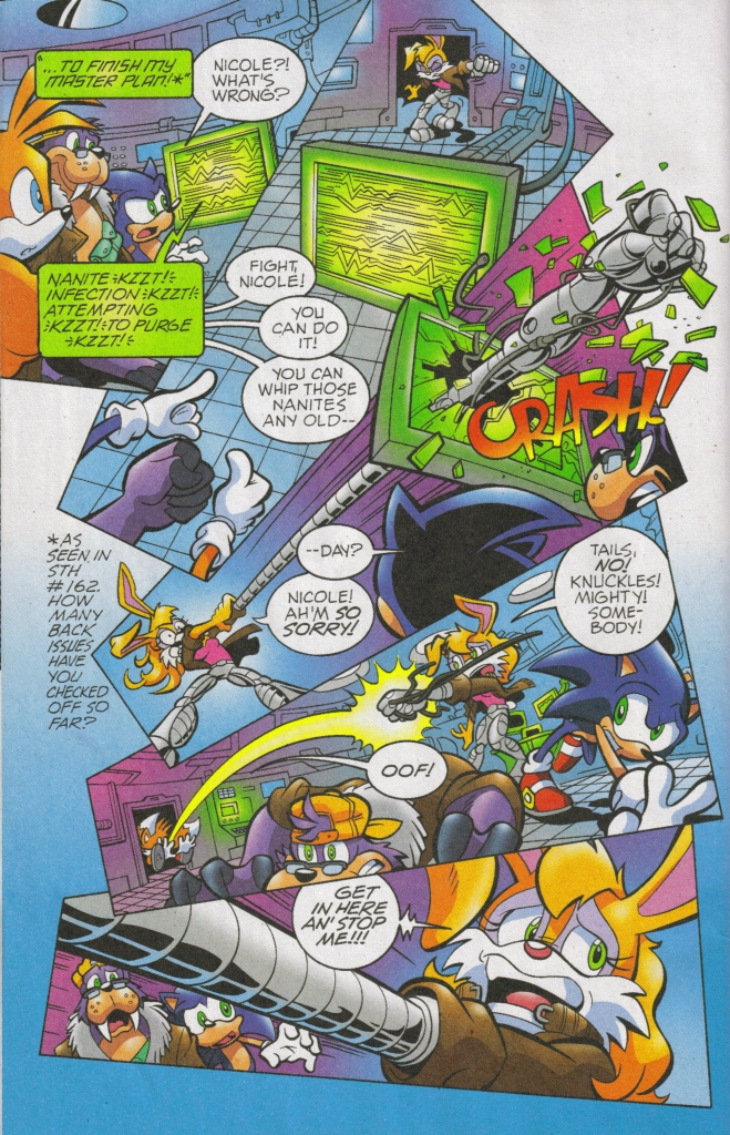 Read online Sonic The Hedgehog comic -  Issue #168 - 11
