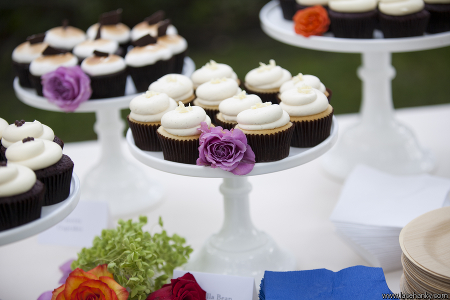 Cocoa & Fig: Rustic Minnesota Wedding Cupcakes & Cake