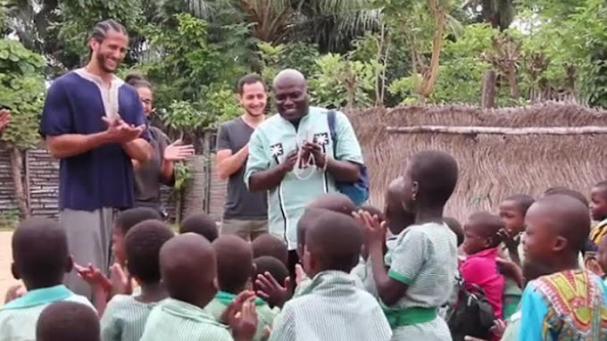 Watch: Colin Kaepernick travels 'home' to Ghana to find his independence