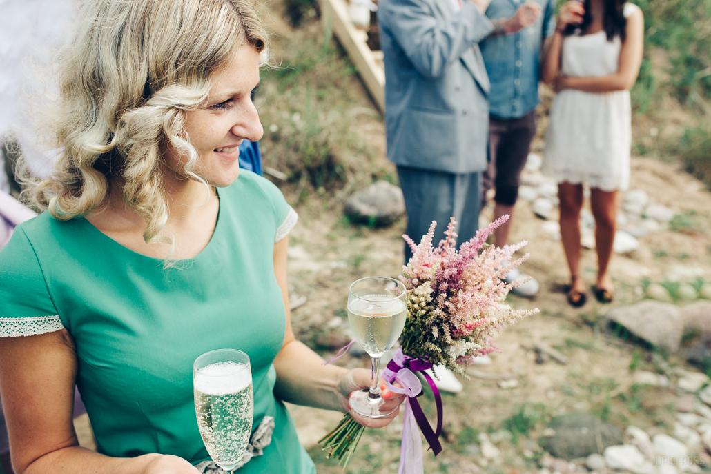 līgavas pušķis no lauku ziediem