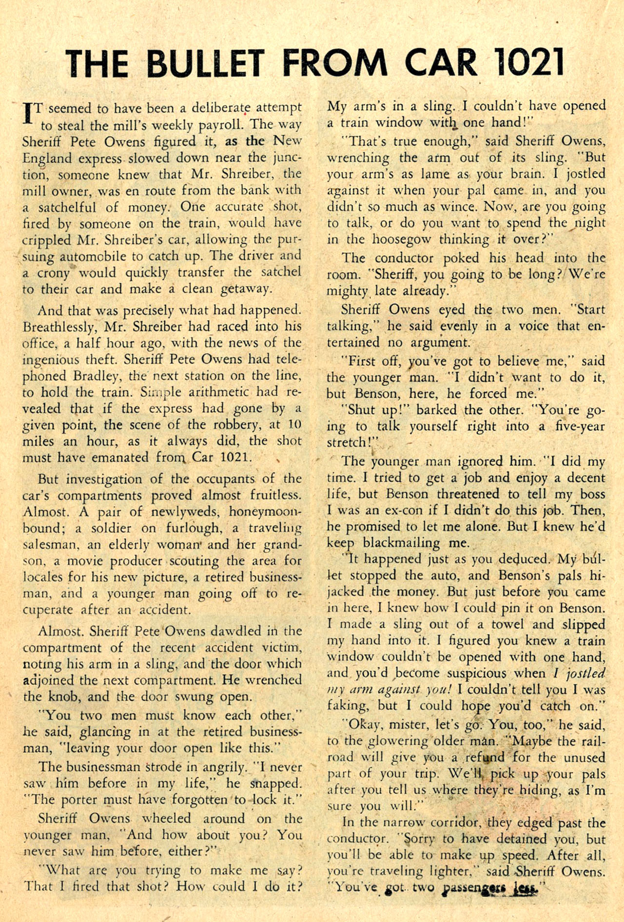 Read online Detective Comics (1937) comic -  Issue #260 - 24