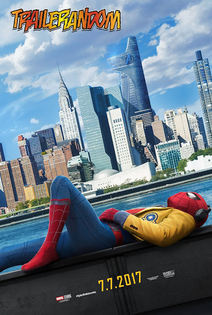 Spider-Man Homecoming poster trailer