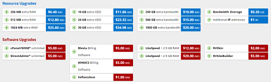 upgrade, VPS Hosting