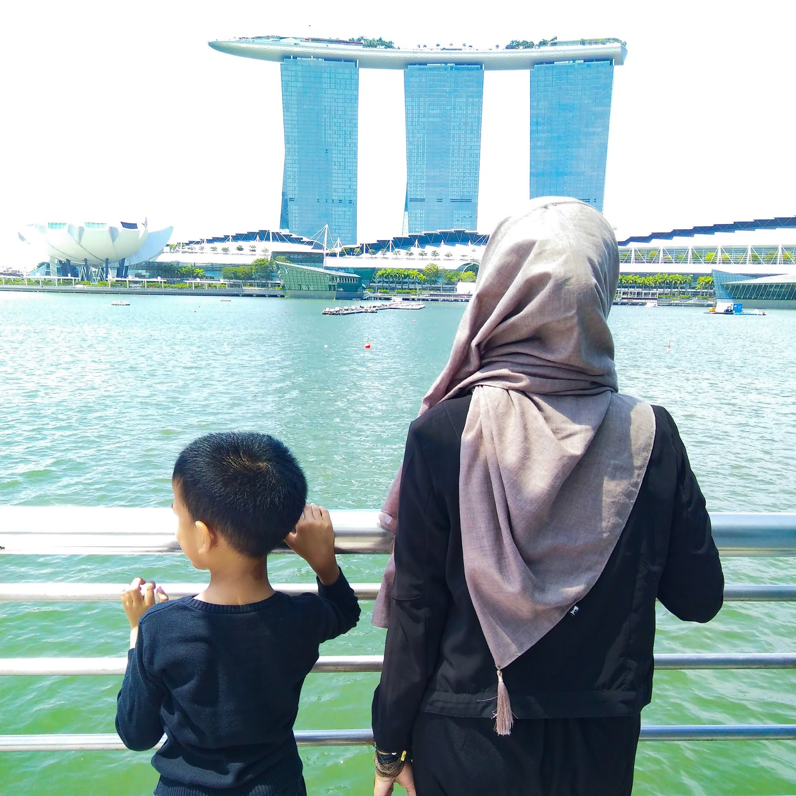 The Eccedentesiast Tiket Fisik Garden By Bay Anak Titip Di Hotel Singapore In Front Of Marina Sands