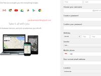 Cara Membuat Gmail Tanpa No Hp Tahun 2017