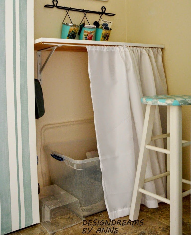 DesignDreams by Anne: Quick & Easy Litter Box Disguise