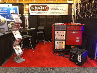 AFTEK-EHS booth at Workboat Show with Quad Arc Welder
