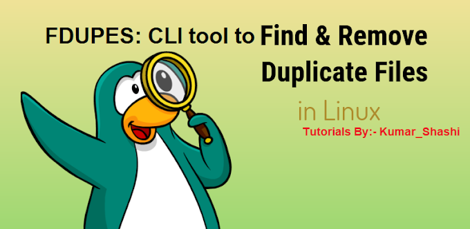 How to Find Duplicate Files in Linux and Remove Using FDUPES  CLI tool Tutorials in Hindi