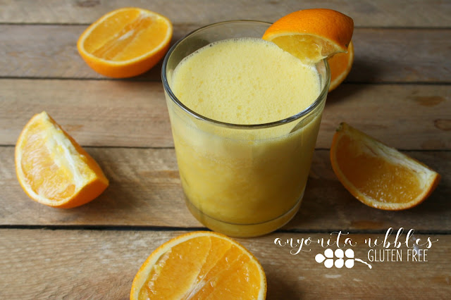 Homemade no added sugar orange juice with Nutri Ninja | Anyonita Nibbles