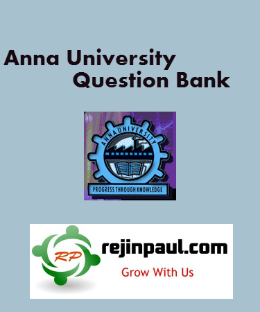 Regulation 2017 3rd Semester Question Bank With Answers Pdf Anna University Anna University Time Table May June 2020 Important Questions