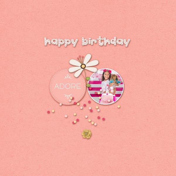 happy birthday © sylvia • sro 2018 • birthday girl by dandelion dust designs