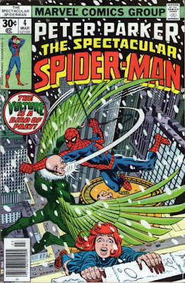 Spectacular Spider-Man #4, the Vulture