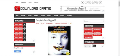 Template para Blogger 2017 Download Gratis