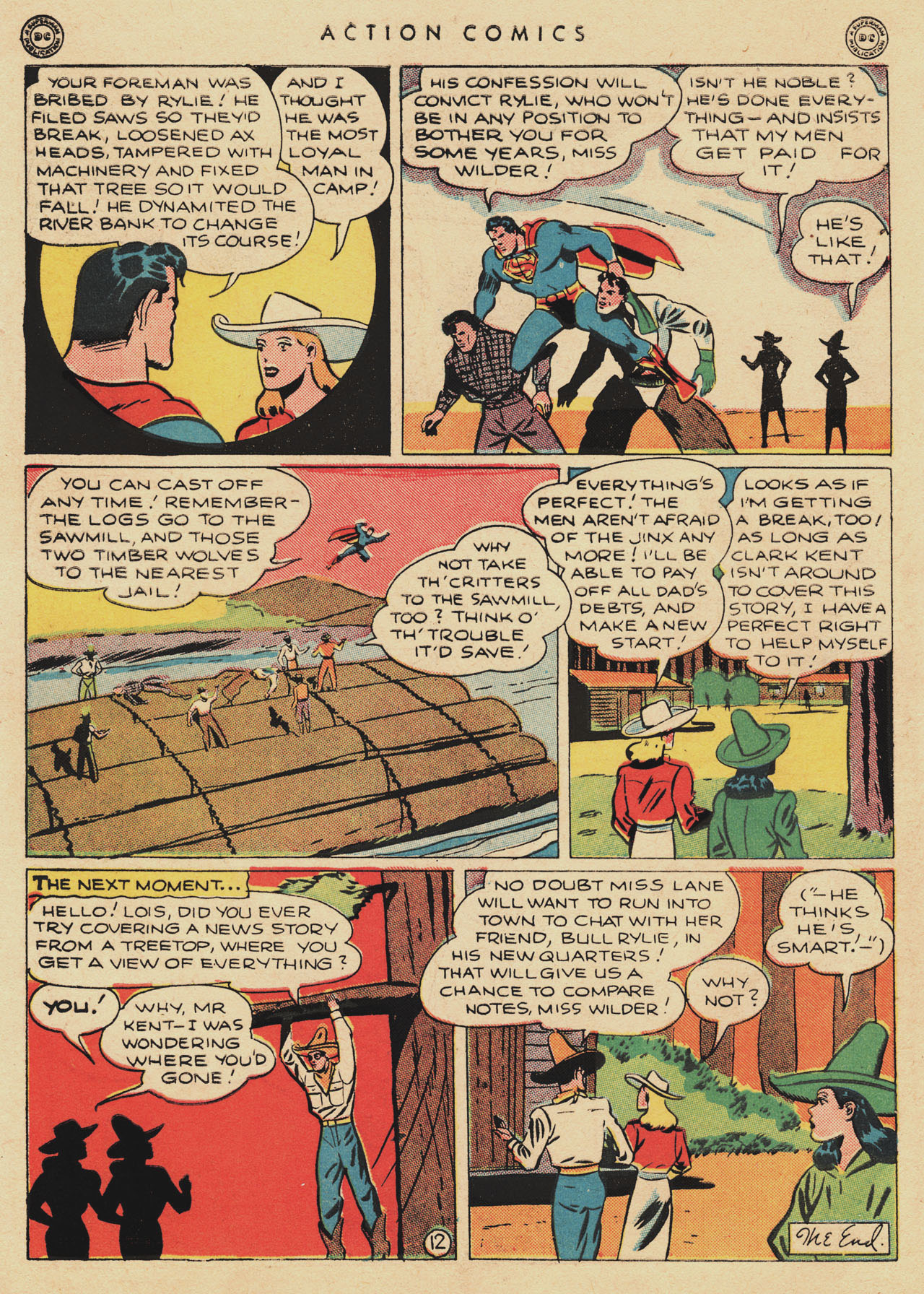 Read online Action Comics (1938) comic -  Issue #94 - 14