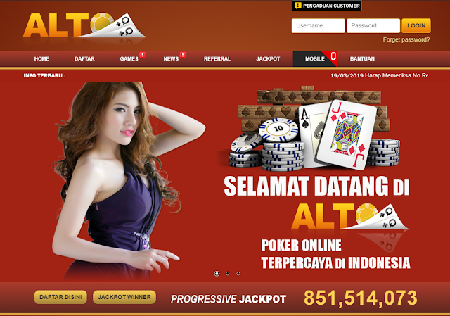 daftar judi poker di AltoQQ