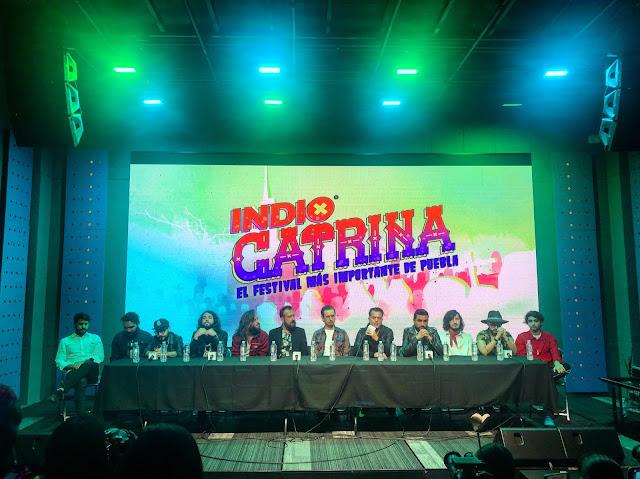Conferencia de Prensa de Indio Catrina 2018