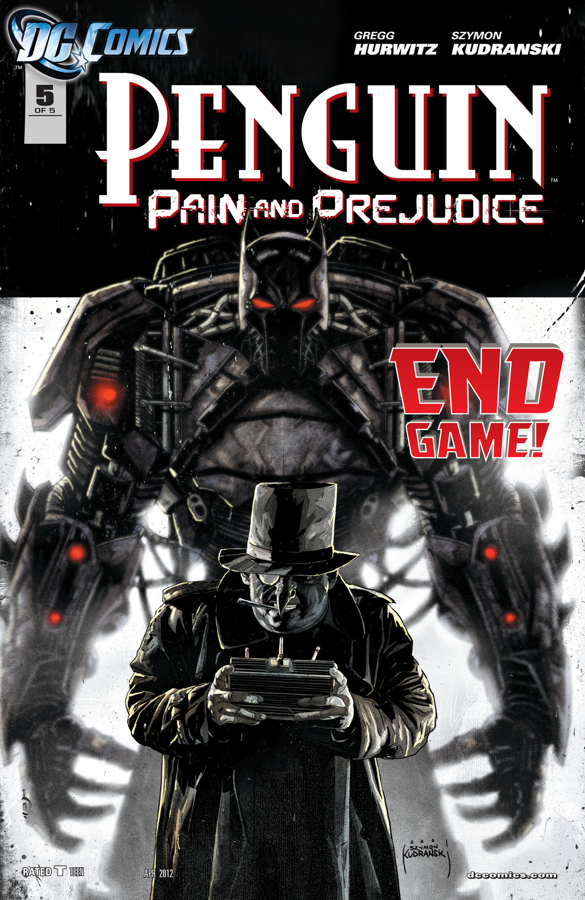 Penguin: Pain & Prejudice 5 Page 1