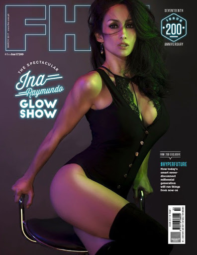 Download Ina Raymundo FHM Magazine Philippines March 2017 PDF