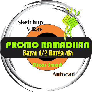 Promo Kursus Autocad,Promo Ramadhan,Promo kursus Vray sketchup