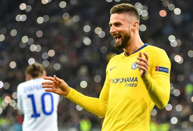 Dynamo Kyiv vs Chelsea