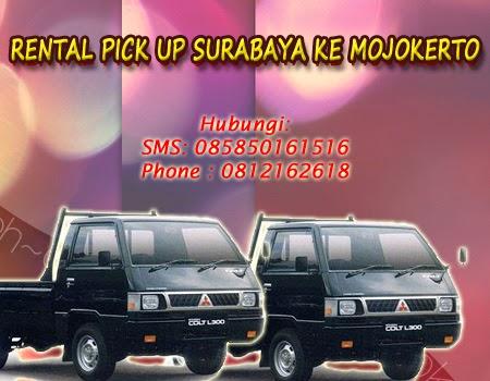 Rental Pick Up Surabaya ke Mojokerto