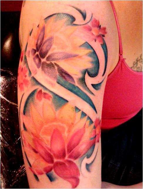 Trend Tattoo Styles Lotus Tattoo Symbolic
