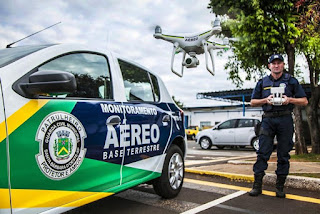Com auxílio de drone, Guarda Civil de Santa Bárbara d´Oeste  detém menor por tráfico