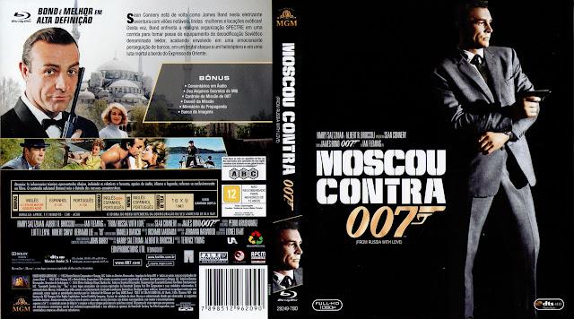Capa Blu-ray Moscou Contra 007