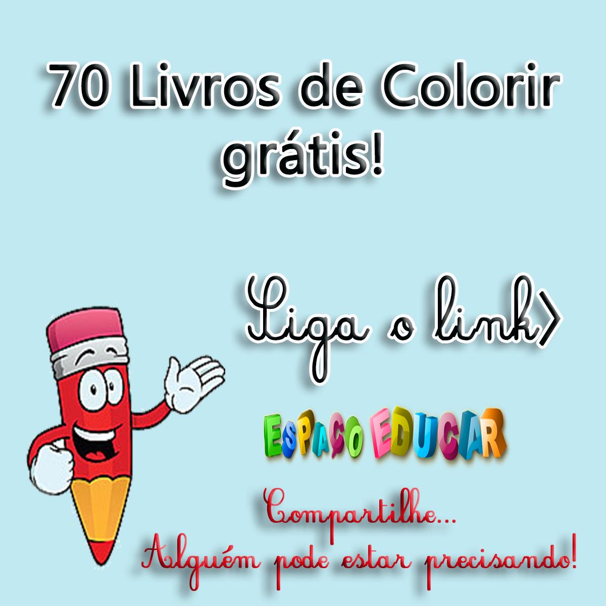 70 Livros De Colorir Gratis Livros Com Atividades Ou Historias Em