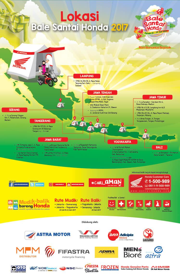 Lokasi Bale Santai Honda Lebaran 2017 Anisa Naga Mas Motor Klaten