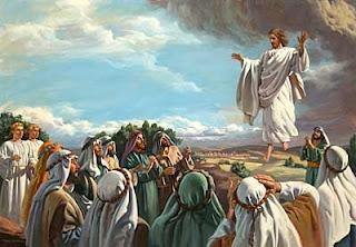 ascensão de jesus cristo fotografada