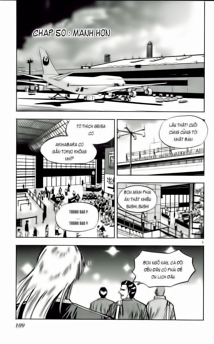 Fantasista chap 50 trang 1