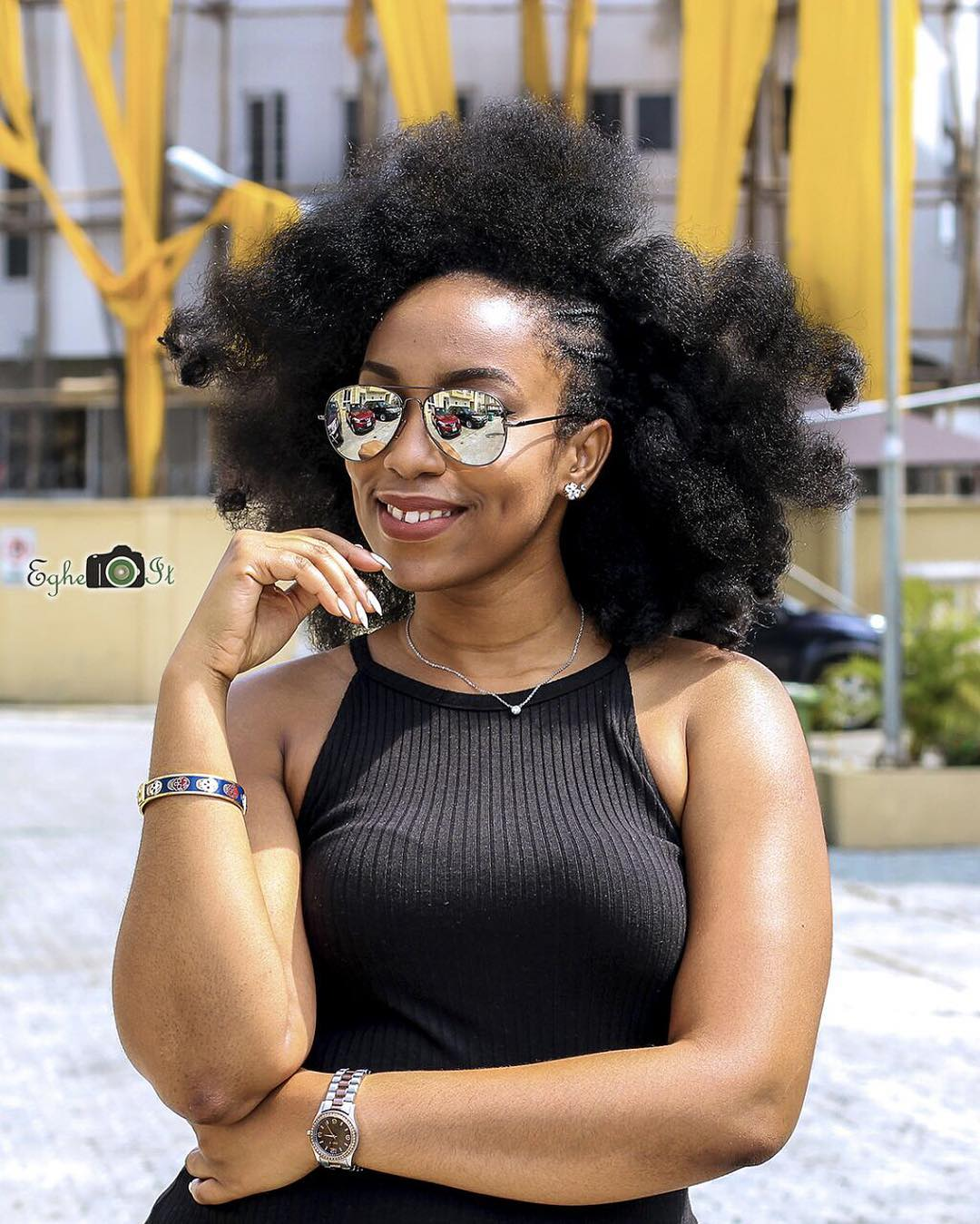 Eki ogunbor @thechameleonblogger