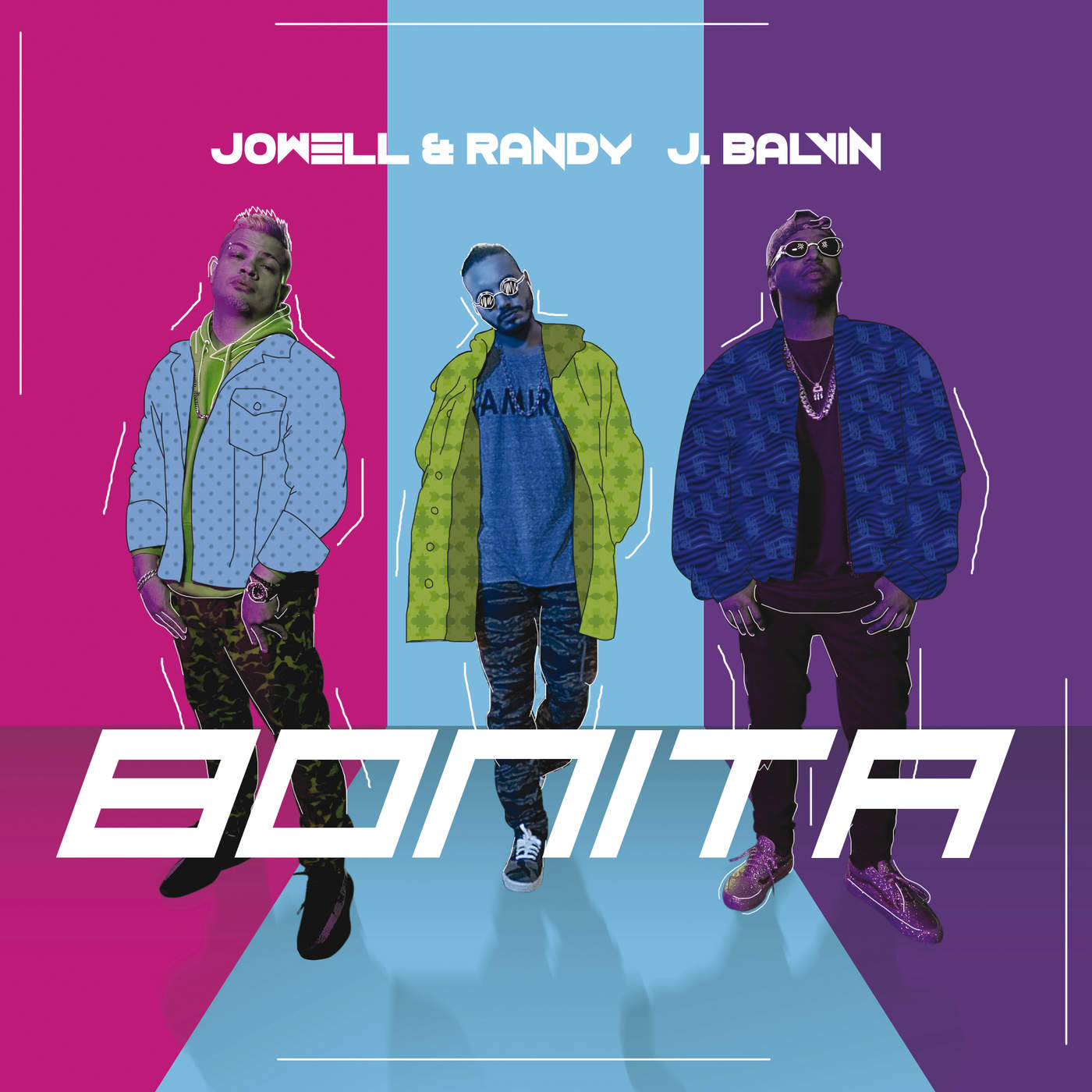 J Balvin & Jowell & Randy - Bonita - Single