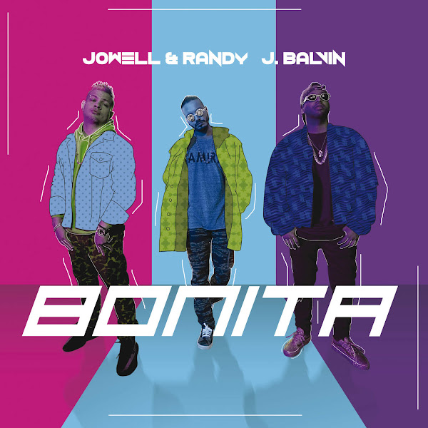 J Balvin & Jowell & Randy - Bonita - Single Cover
