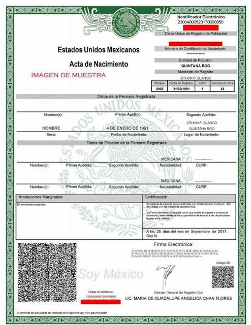 Acta de nacimiento en Colima tramita en linea ve los requisitos para solicitarla rapido online