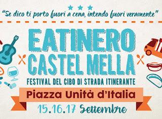 Eatinero: Festival del cibo di strada 15-16-17 settembre Castel Mella (BS)