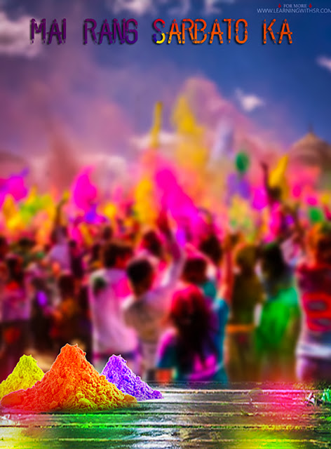 Holi colours background picsart editing 2020
