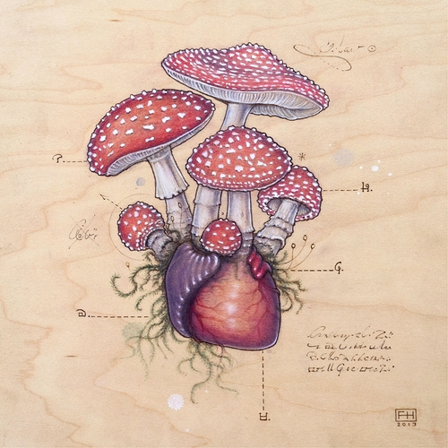 17-Mushroom-Heart-Fay-Helfer-Pyrography-Game-of-Thrones-and-other-Paintings-www-designstack-co