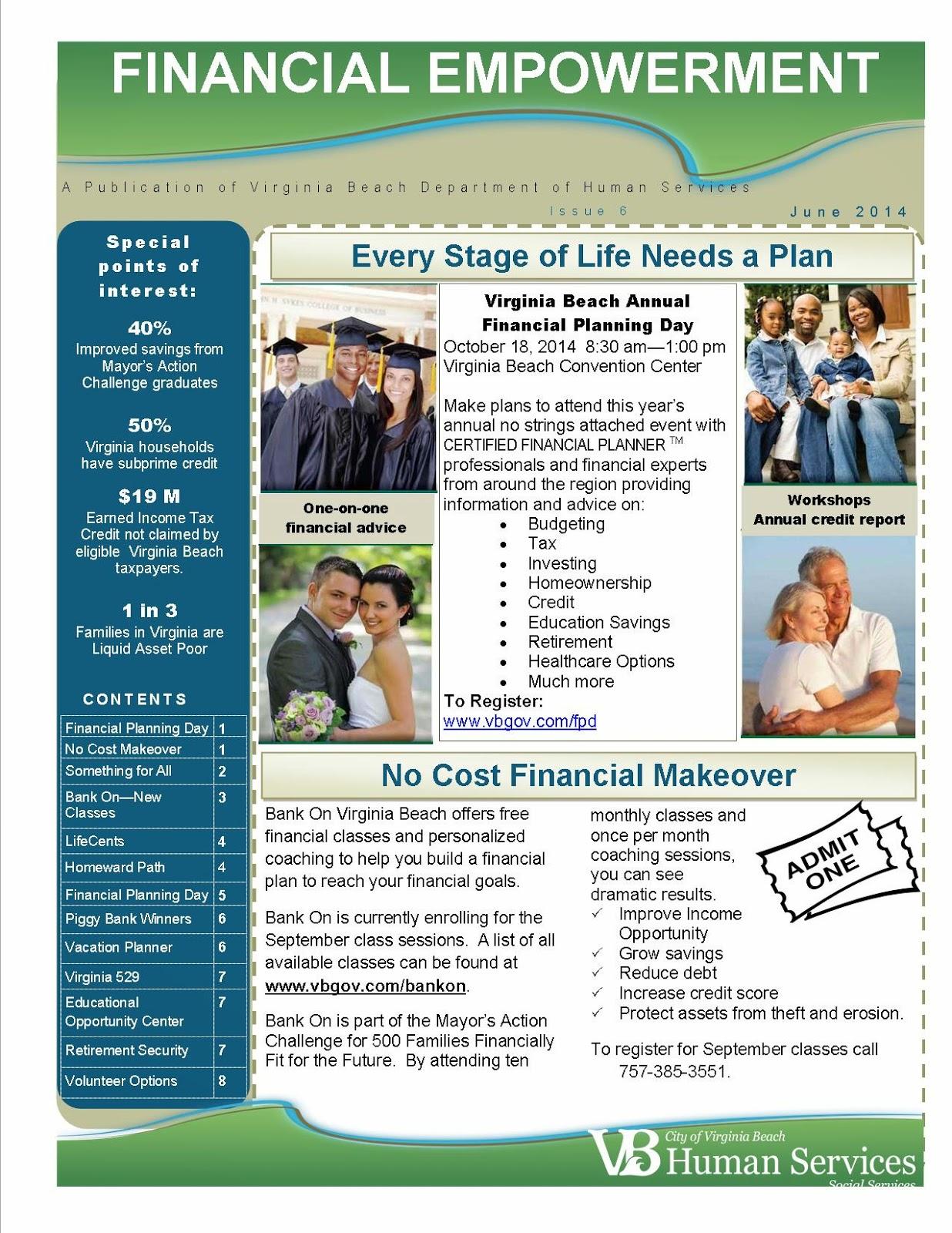 Bank On Hampton Roads Financial Empowerment News