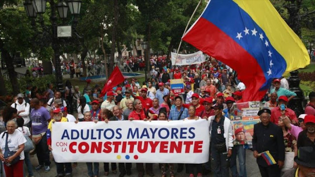'Más de la mitad de venezolanos apoya proceso constituyente'