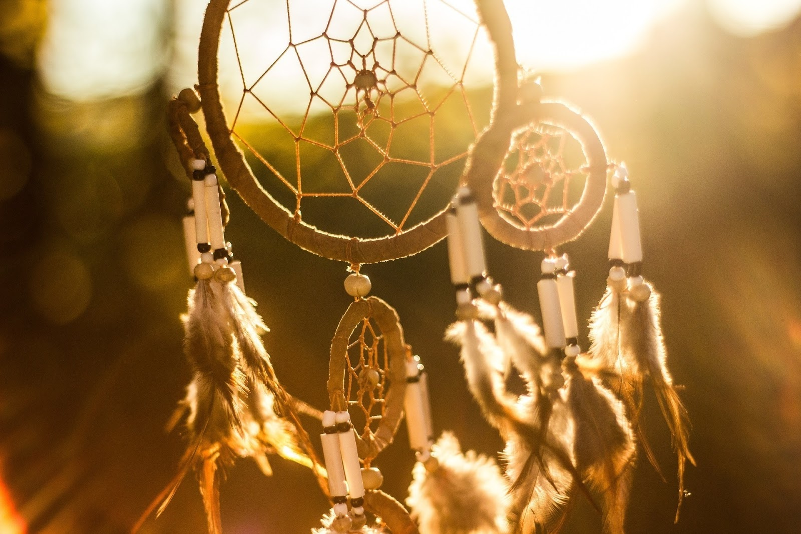 Once you've had one of these dream visitations, you might want to invest in a dream catcher. - Signs Your Deceased Loved One Is Still Nearby.